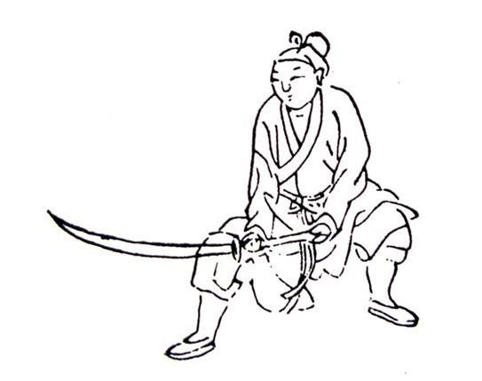 关于武术的简笔画